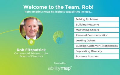 Rob Fitzpatrick Appointed Commercial Advisor to Board of Directors
